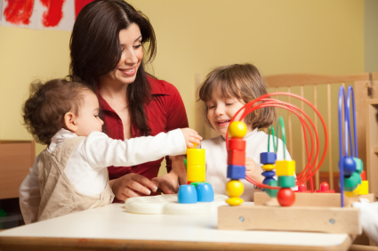 "Nicole teaches parents about play, language & intelligence and the ""How to.."""