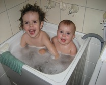 Happy Babysmiles siblings - Casey family