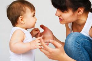 baby-talking-to-mum