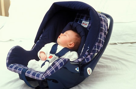 New Born Sleeping Car Seat