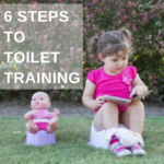 6 steps to toilet training
